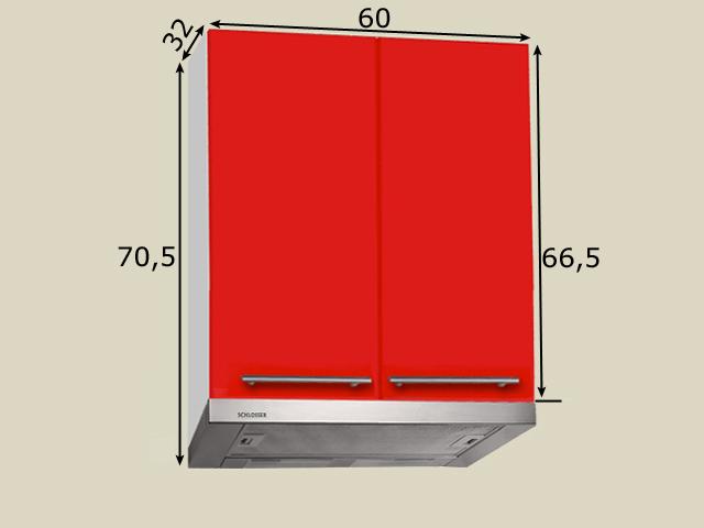 Seinakapp õhupuhastajale (laius 60cm)