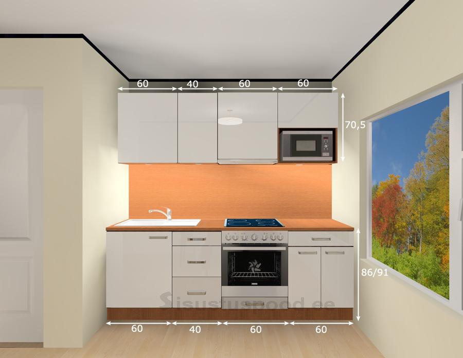 LUXE kõrgläikega köögimööbel