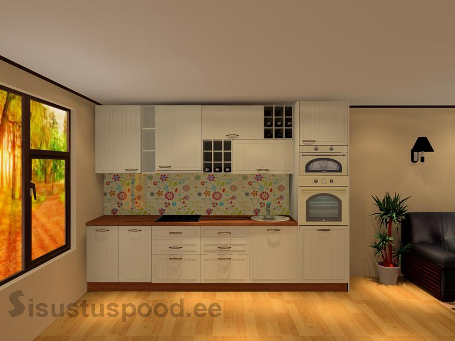 Värvitud ustega köögimööbel Maria