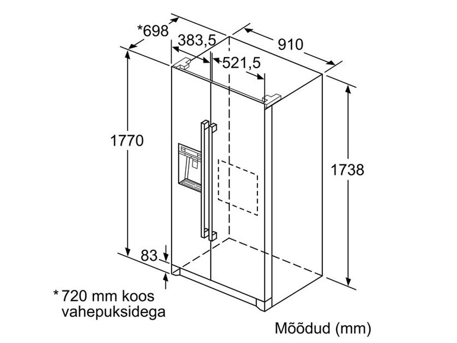 Külmik Bosch KAD90VI20
