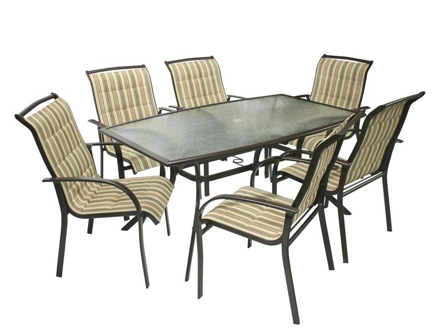 Komplekt OTTAWA laud ja 6 tooli