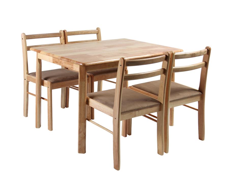 Söögilauakomplekt LOTUS 4-tooliga