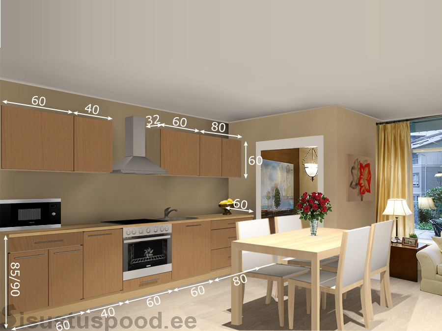 Кухня Kaisa 2 S