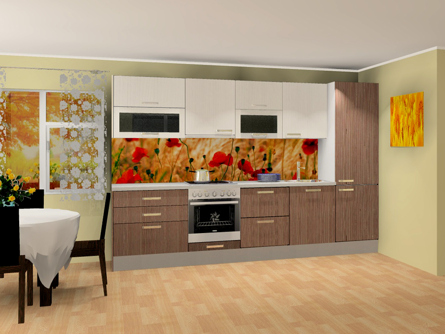 Кухня Anna 1 PLXPK