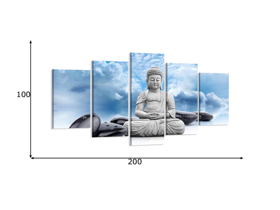 Viieosaline seinapilt Buda