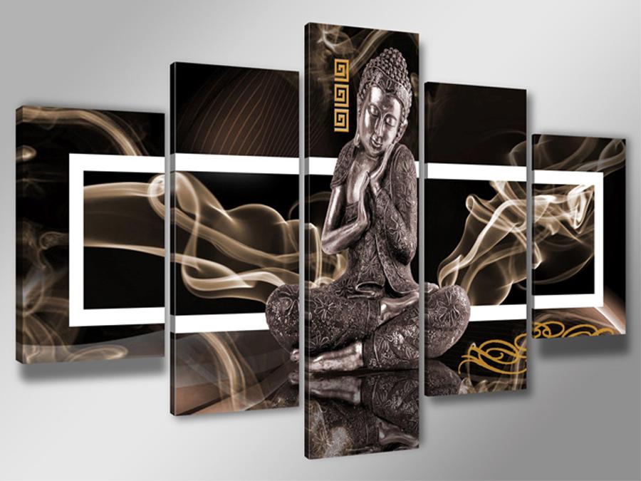 Viieosaline seinapilt Buddha