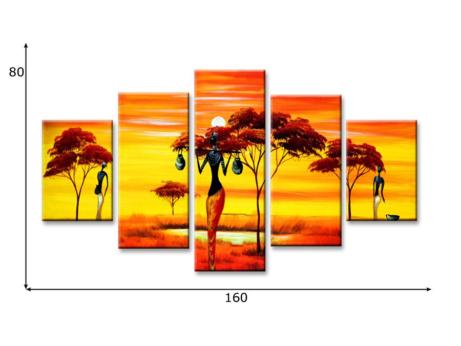 Viieosaline seinapilt Aafrika