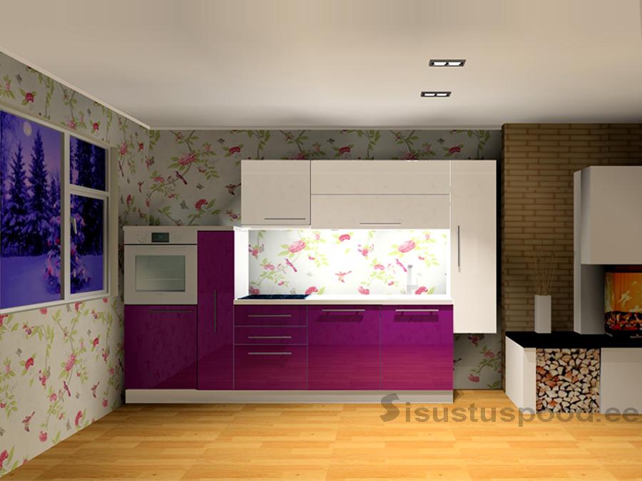LUXE kõrgläikega köögimööbel 310cm