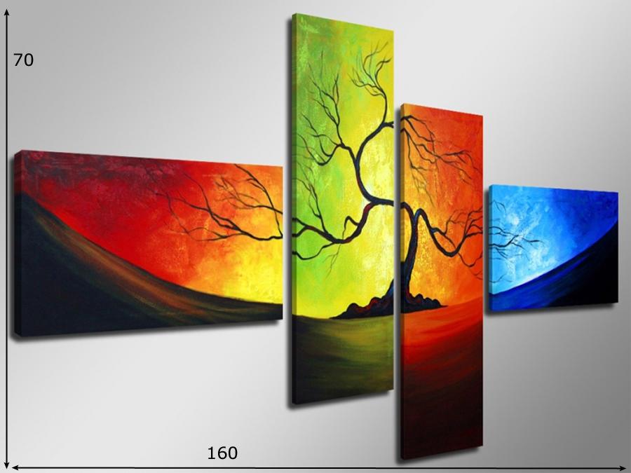 Neljaosaline seinapilt Raagus puu