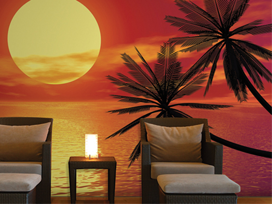 Fototapeet ROMANTIC SUNSET