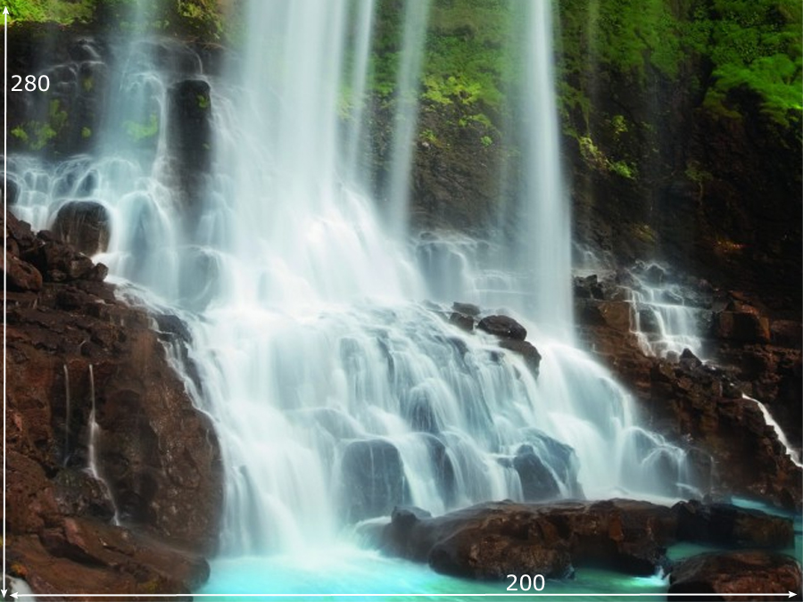 Fototapeet FALLING WATERS