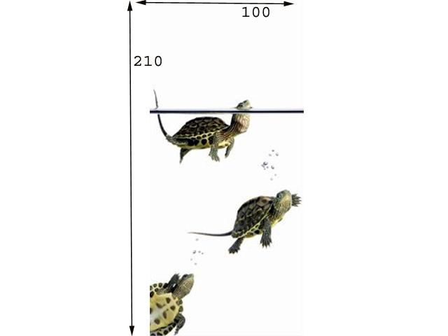 Uksetapeet DIVING TURTLES