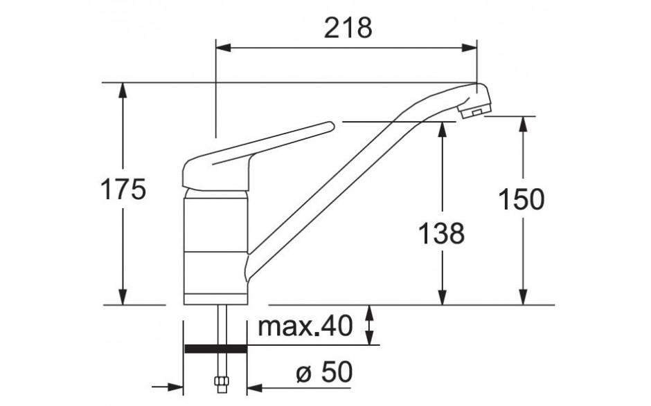 Franke BAT 750-2 (grafiit)
