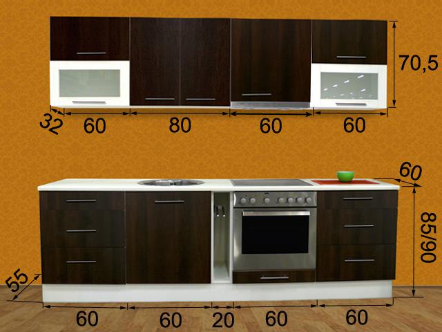 Кухня Tiina 1 PLX