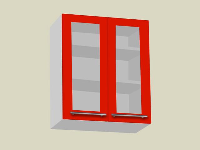 Seinakapp 2 klaasuksega (kõrgus 90cm)