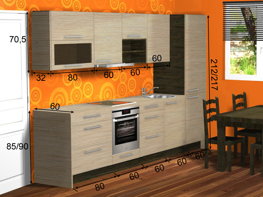 Köögimööbel Carmen 3 PLXPK