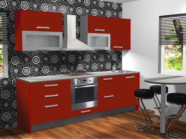 Köök Anna PLKT (koos tehnika ja valgustitega)