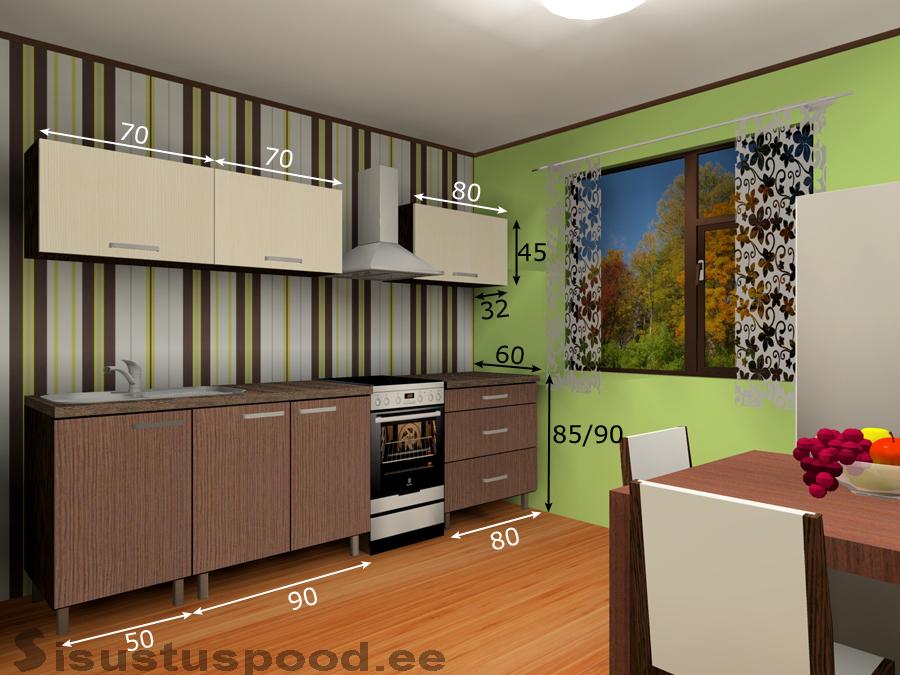 Köögimööbel Linda 3