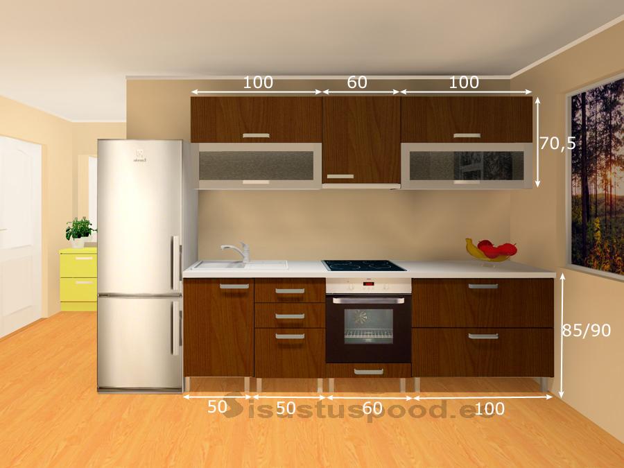 Köögimööbel Linda 1 PLX